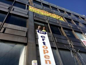 ERT Open...nouvelle télé autogérée © Brian Janssen