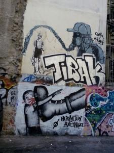 La résistance à Aube Dorée s'affiche sur les murs ©  Brian JANSSEN