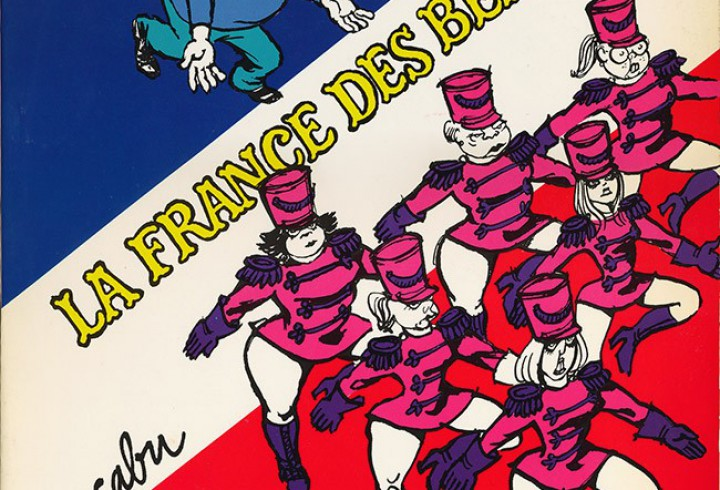 couverture de la bande dessinée: Mon beauf' 2. La France des Beaufs de Cabu, Editions du Square, Paris, 1979