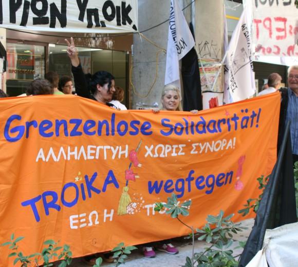 A la rencontre des citoyen-n-es grec-que-s © Carsten Schulze