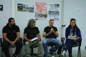 Les représentants du syndicat du métro athénien  © Carsten Schulze