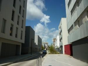 Photo 2_une rue aux pieds d'immeubles aveugles