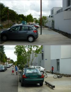 Photo 4_un stationnement sauvage sur l'espace public