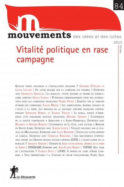 Vitalité politique en rase campagne? - Revue Mouvements numéro 84