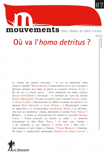 Où va l'homo detritus ? - Revue Mouvements numéro 87