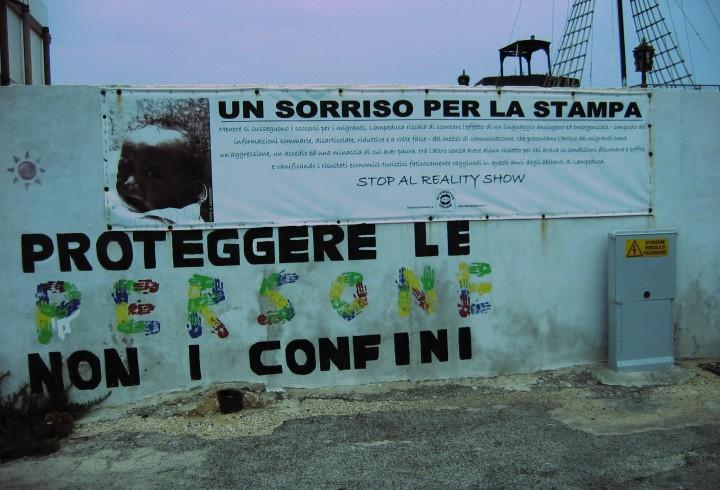 Lampedusa, été 2016. Marie Bassi