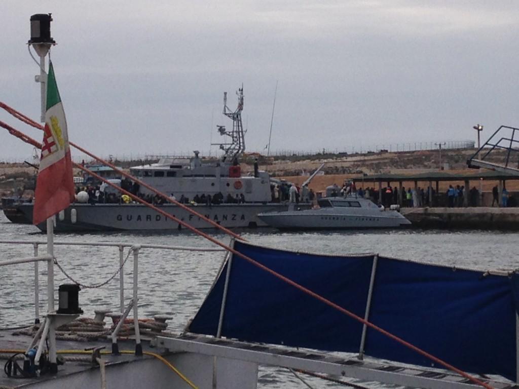 Lampedusa, été 2016. Maud Chevet
