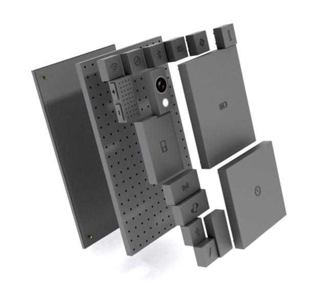 Figure 4. PhoneBlock, réparable par conception, selon le principe DfD (Design for Disasembly)