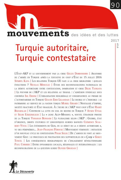 Turquie autoritaire, Turquie contestataire - Revue Mouvements numéro 90