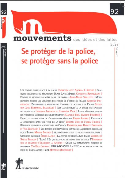 Se protéger de la police, se protéger sans la police - Revue Mouvements numéro 92