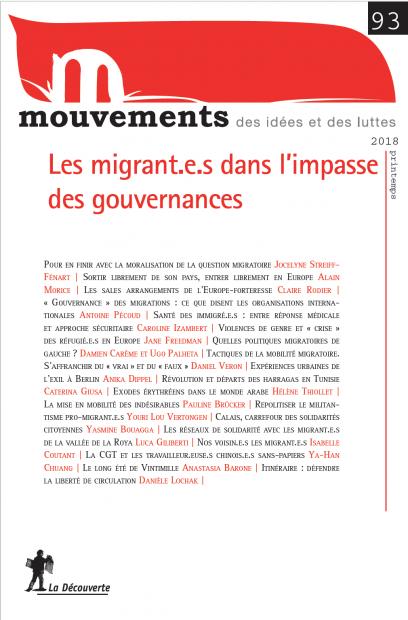 Les migrant·e·s dans l'impasse des gouvernances - Revue Mouvements numéro 93