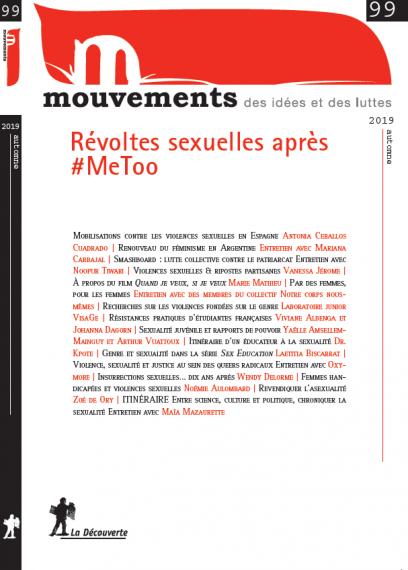 Révoltes sexuelles après #MeToo - Revue Mouvements numéro 99