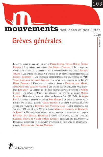 Grèves générales - Revue Mouvements numéro 103