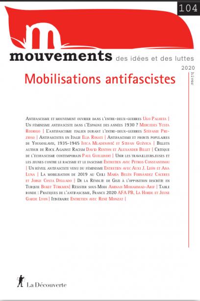 Mobilisations antifascistes - Revue Mouvements numéro 104